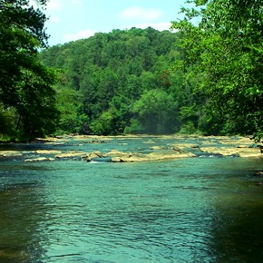 Tubing Down the Chattahoochee River