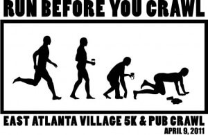 East Atlanta Village 5k & Pub Crawl 2011