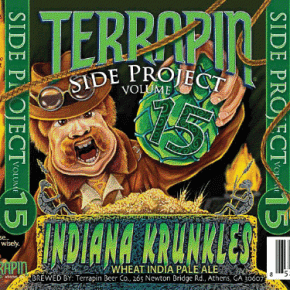 "Terrapin Beer Co. ""Indiana Krunkles"""