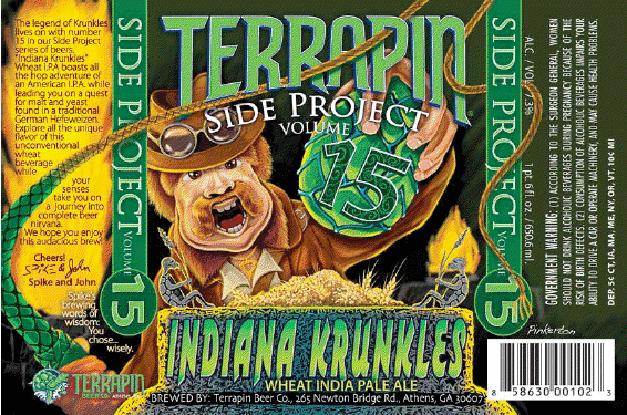 "Tapping the Terrapin ""Indiana Krunkles"""