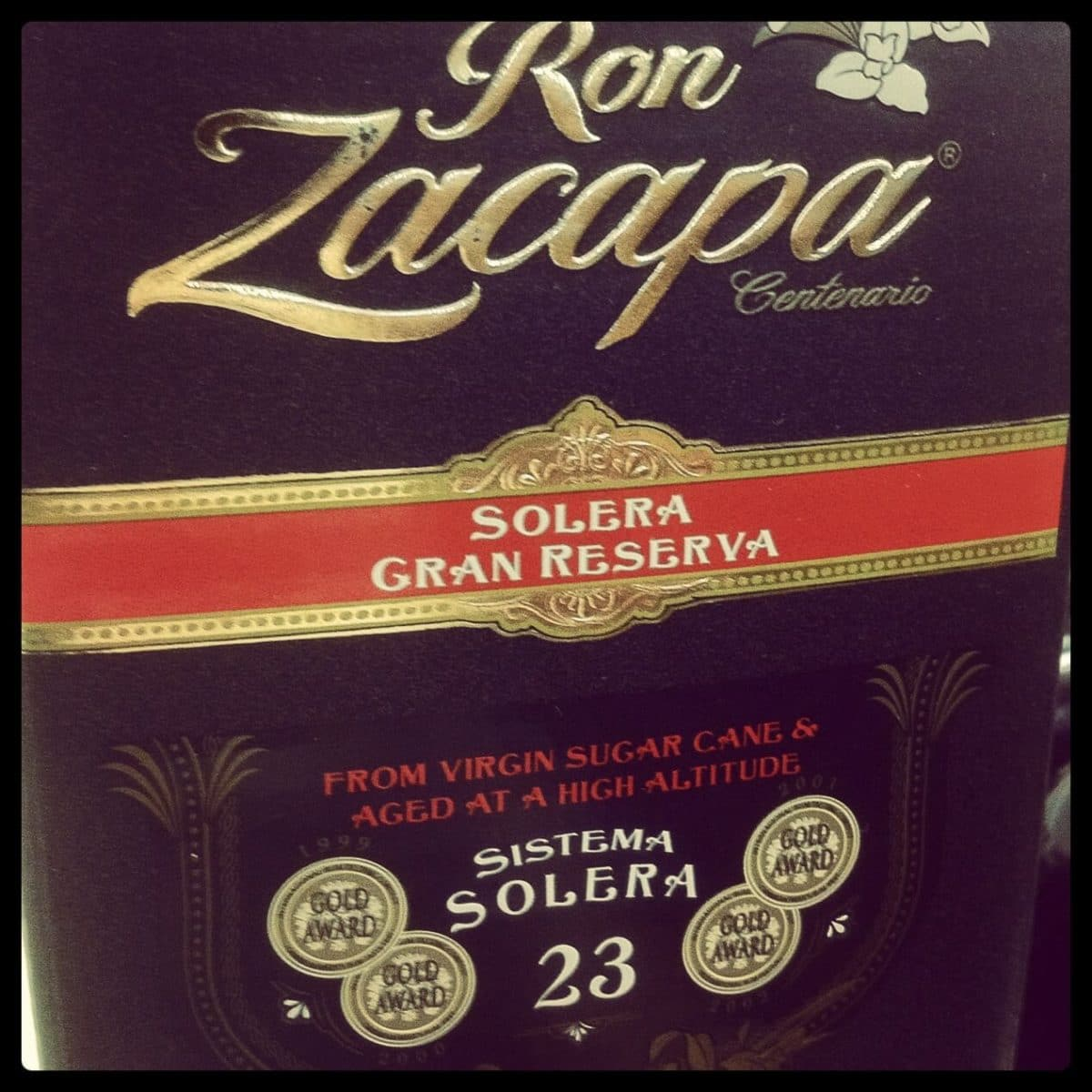 Ron Zacapa Centenario 23 – The Rum for Whiskey Drinkers