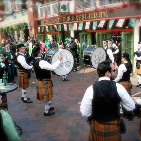 St Patrick's Day in Atlanta