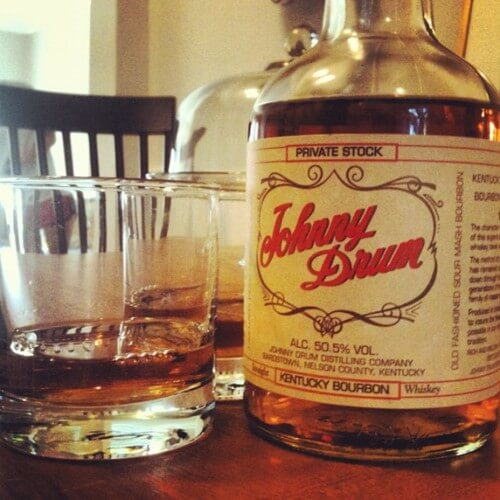 johnny drum kentucky bourbon whiskey