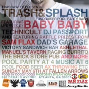 Trash & Splash Fundraiser Pool Party Bash