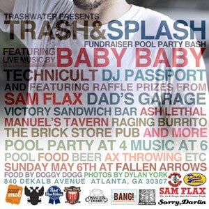 Trash & Splash Fundraiser Pool Party Bash