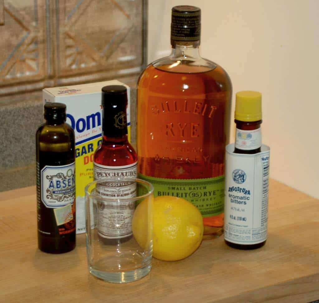 Sazerac Ingredients