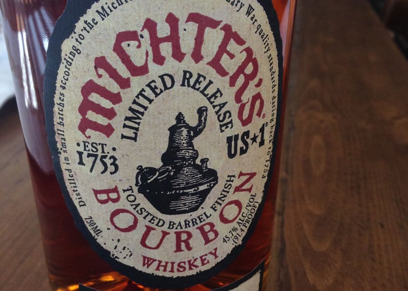 mitchers toasted bourbon