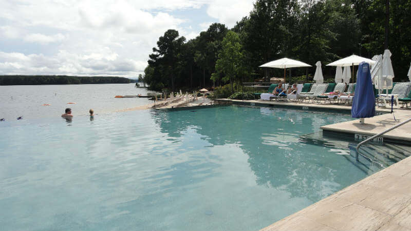 lake ocronee - ritz - pool