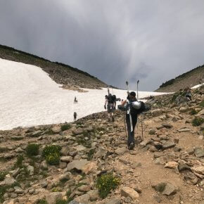 Ski in August? At Saint Mary's Glacier in Colorado
