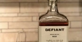 Defiant Single Malt Whisky, North Carolina