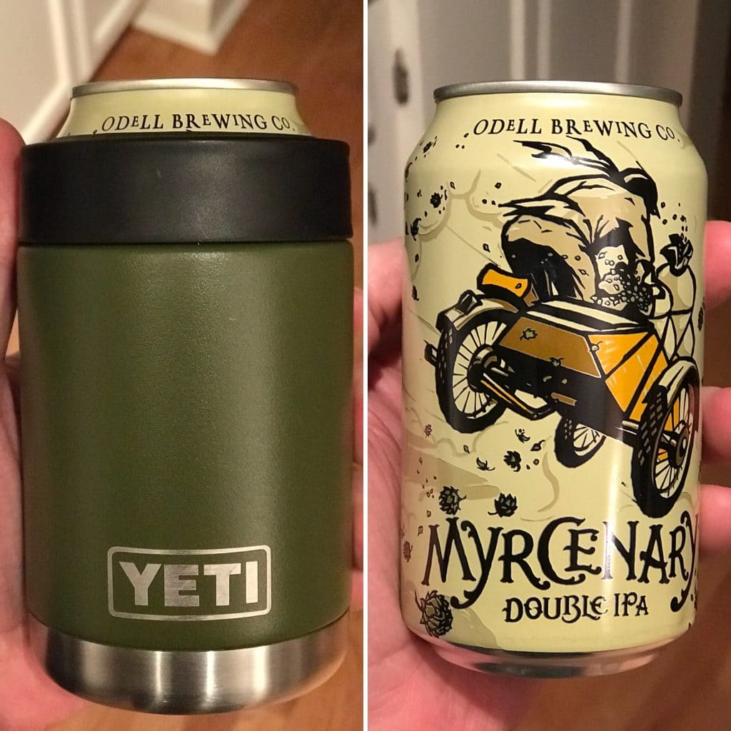 Myrcenary DIPA - Odell Brewing Co in YETI